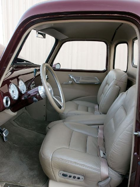 1950 Chevy Truck Interior Google Search With Images Classic