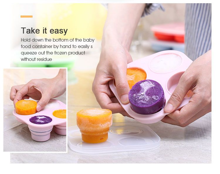 collapsible food storage containers australia Reusable baby food