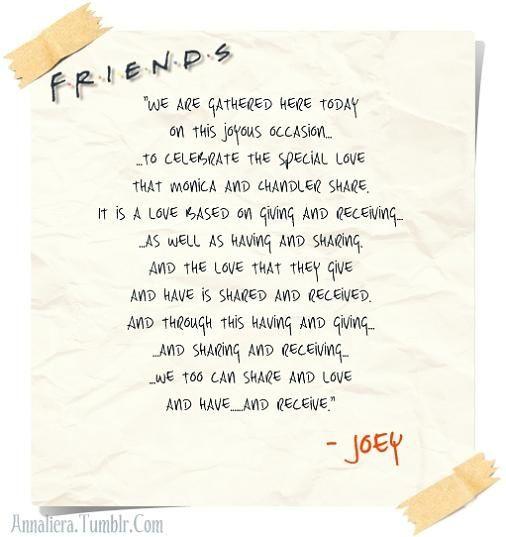 Vanessa Samurio Samurio Jones | Geekiness | Friends tv, Best