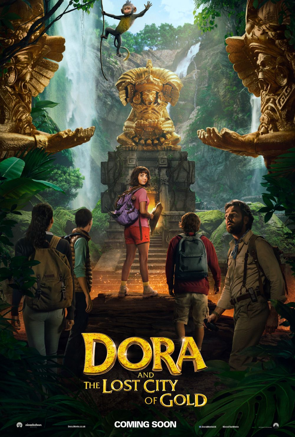 Dora And The Lost City Of Gold Lost City Of Gold Lost City Action Anime Movies