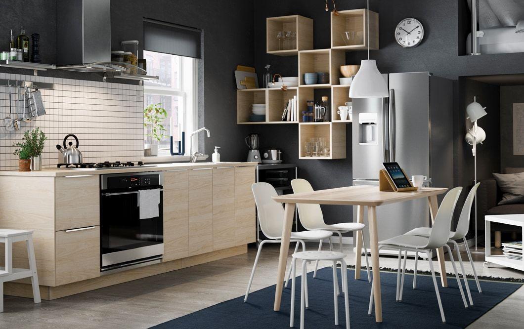 Kitchen Inspiration Tapis Tisse Plat Ikea Et Couleurs D Armoire