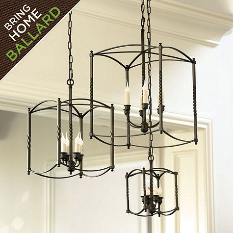 Carriage House Chandeliers Ballard Designs For Kitchen Island