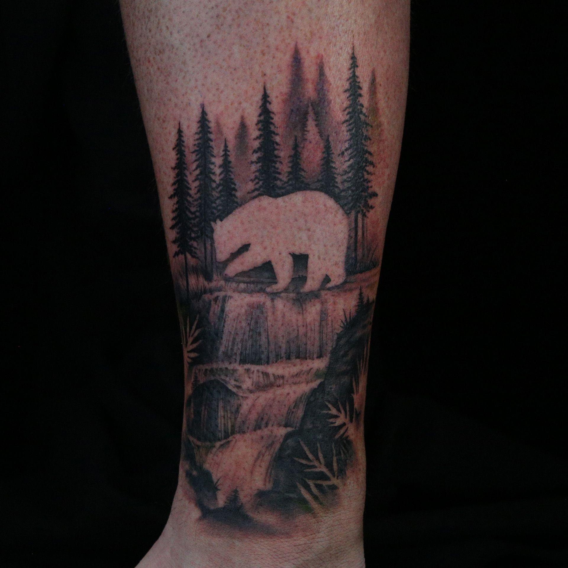 Negative Space Tattoo By Daniel Silva Negative Space Tattoo Space Tattoo Ink Master