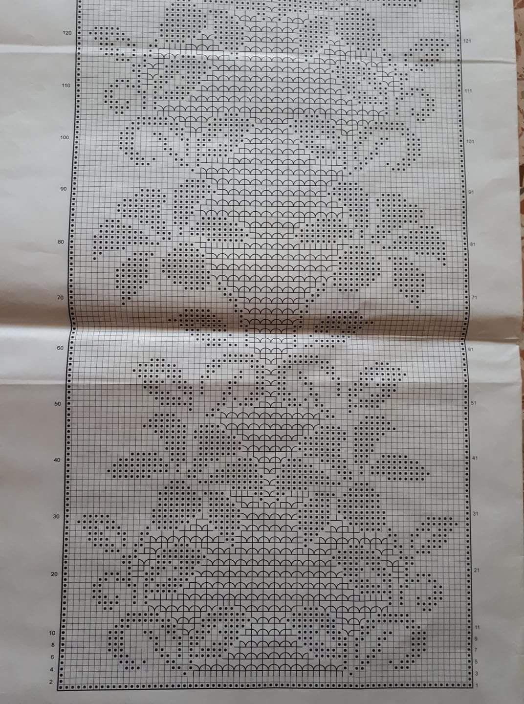 Inserto Mani Di Fata Wzory Siatkowefilet Crochet Curtains