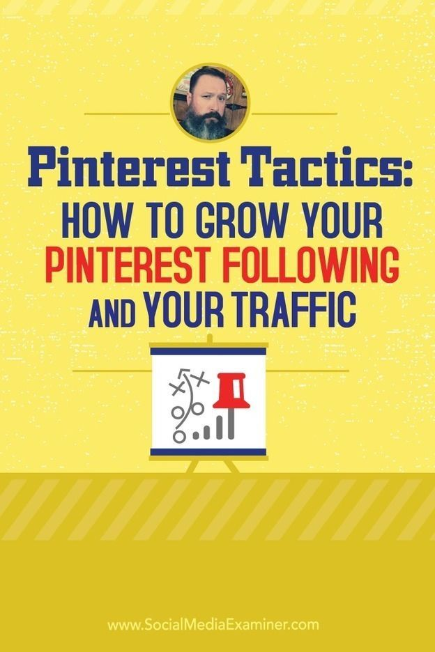 Pinterest Tactics: How to Grow Your Pinterest Following and Your Traffic:  // Pinterest is a great way to promote your therapist website. Check out some tips here to grow your traffic.