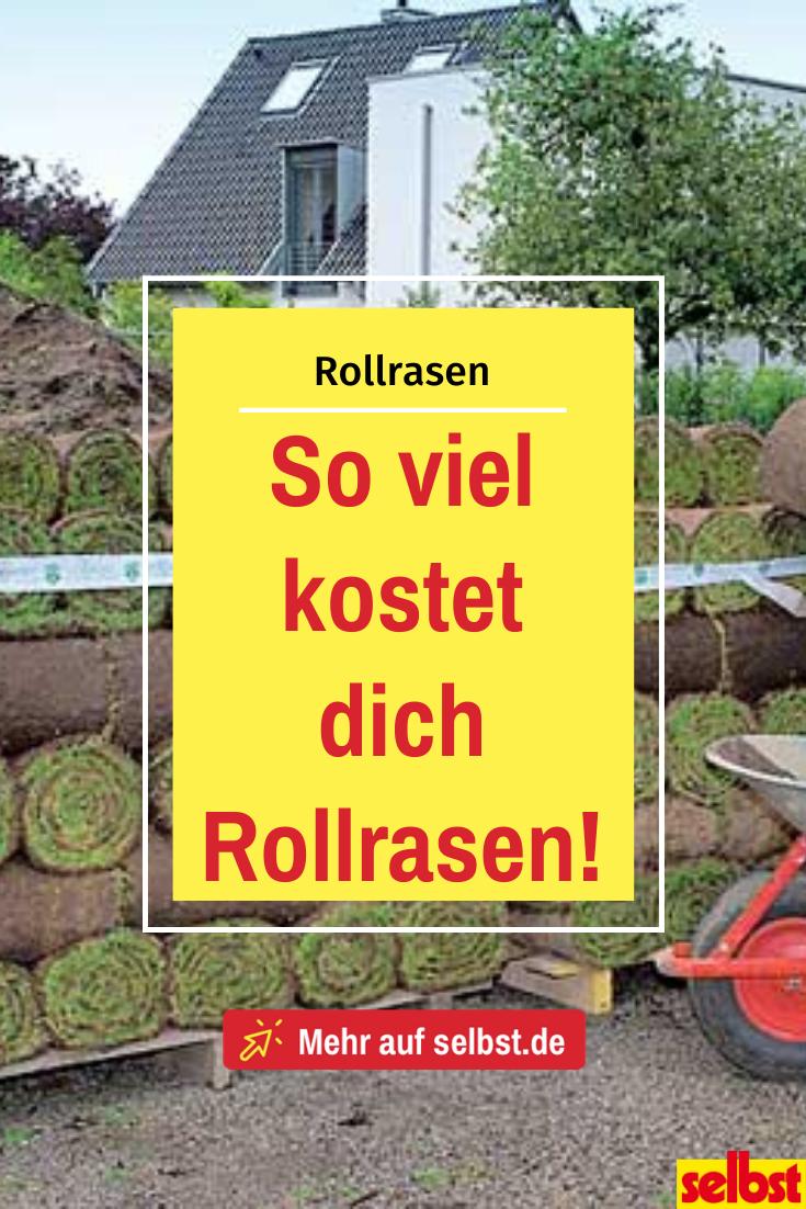 Rollrasen Kosten Selbst De In 2020 Rasen Rasen Anlegen Landschaftsgartner