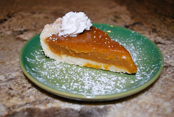Pumpkin Pie-  I'm in charge of all things orange this year for thanksgiving.  Pumpkin/Sweet Potato Pie, butternut squash, and Pumpkin Mousse!