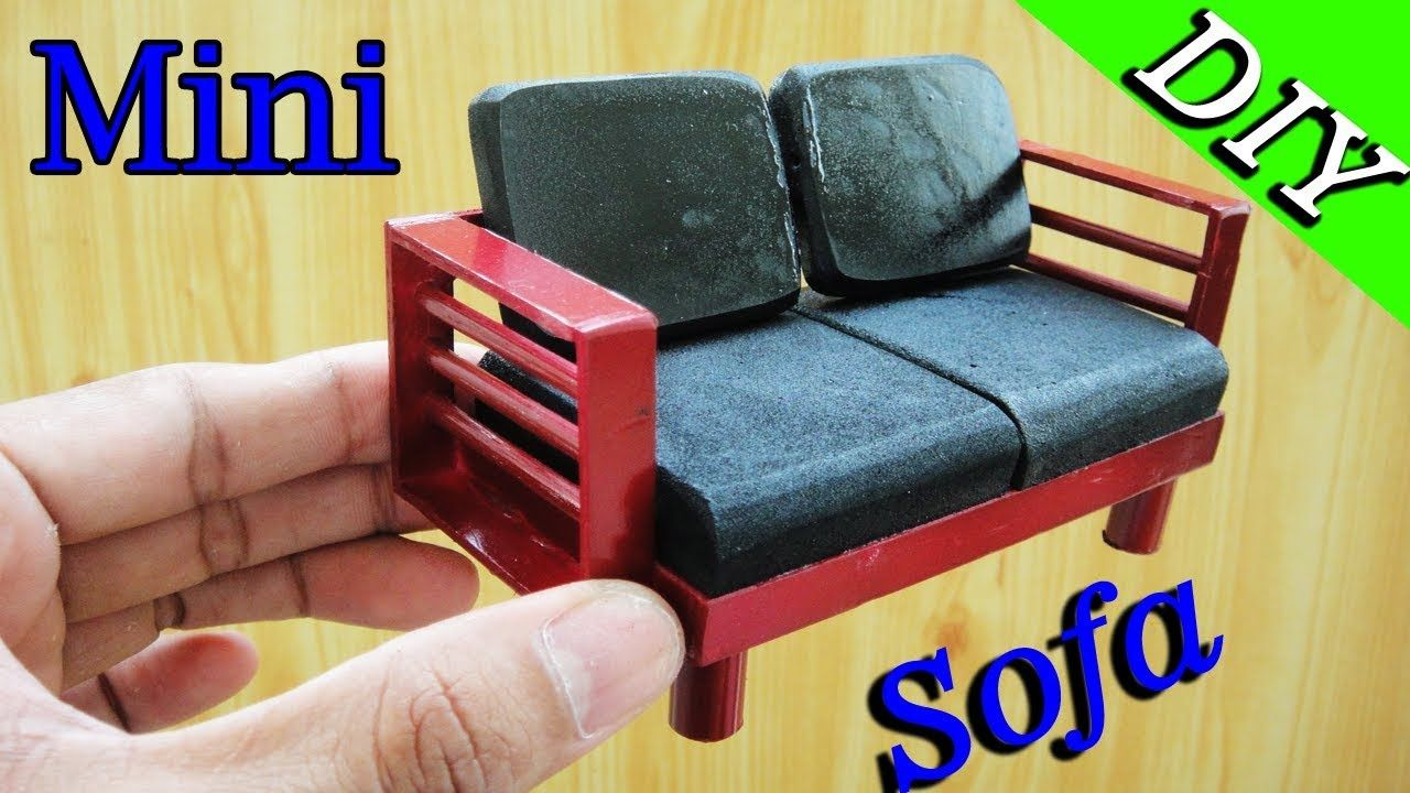 youtube no couch diy watch sew miniature