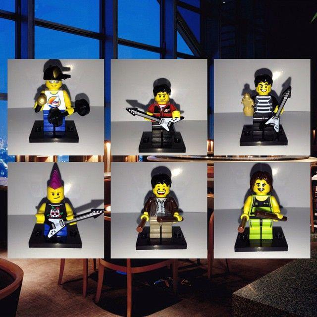 @avengedsevenfold #LEGO minifigures made by myself. #DEATHBAT #avengedsevenfold #a7x #minifigures #mshadows #zackyvengeance #synystergates #johnnychrist #arinilejay #jimmytherevsullivan