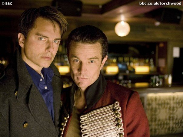 """James Marsters (right) guest starred on """"Torchwood"""" as the villainous Captain John Hart."""