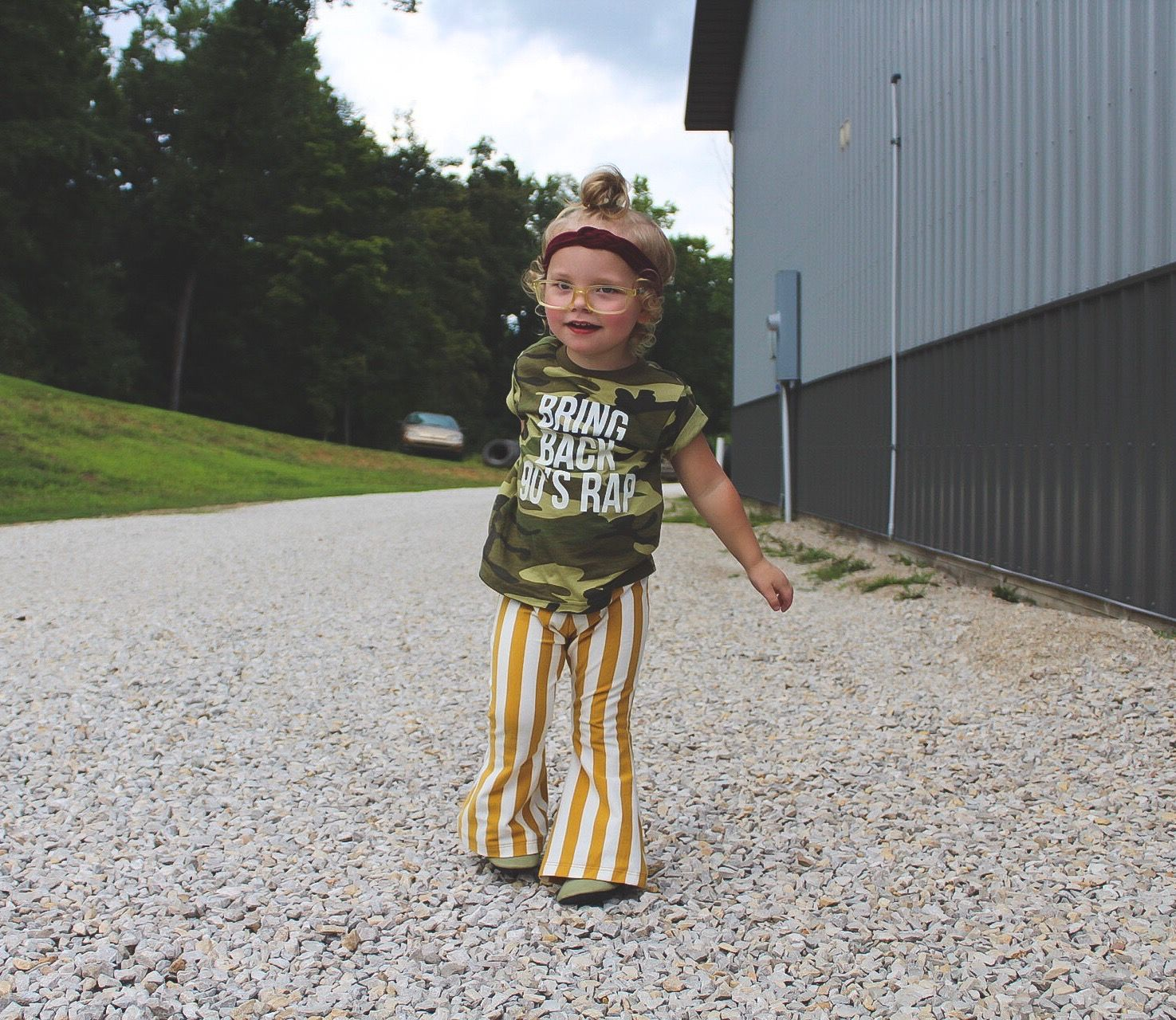 Baby mustard Stripe Bell Bottoms, toddler fall bell bottoms, handmade baby girl pants, Boho Baby Clothes, Hippie Toddler Pants is part of Baby Clothes Boho - 1922726817958192 Follow and tag us on Instagram! @hipmingo