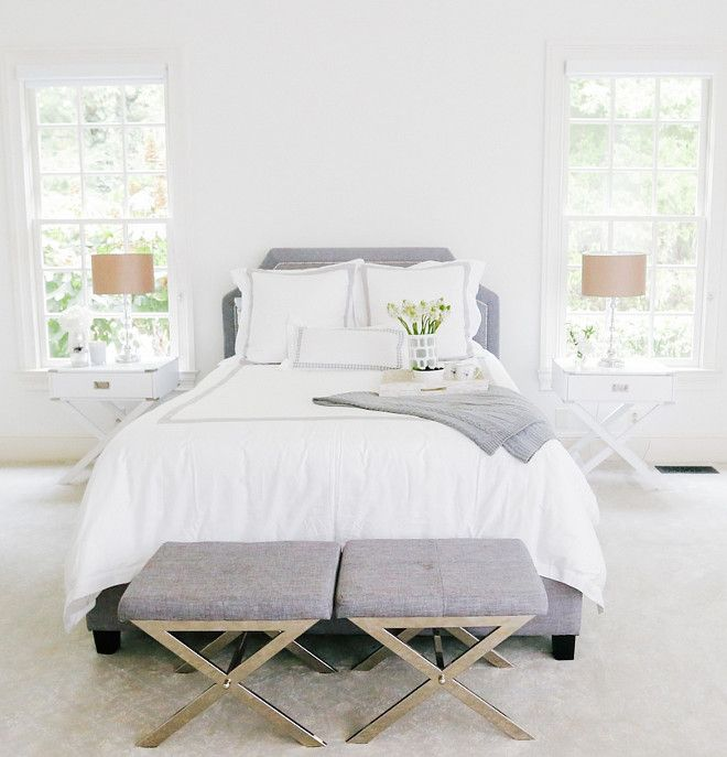 "Master Bedroom Paint Colors Benjamin Moore new interior design ideas for the new year - ""best white bedroom"