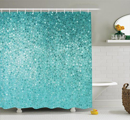 Bathroom Rugs Ideas Turquoise Decor Shower Curtain Set By