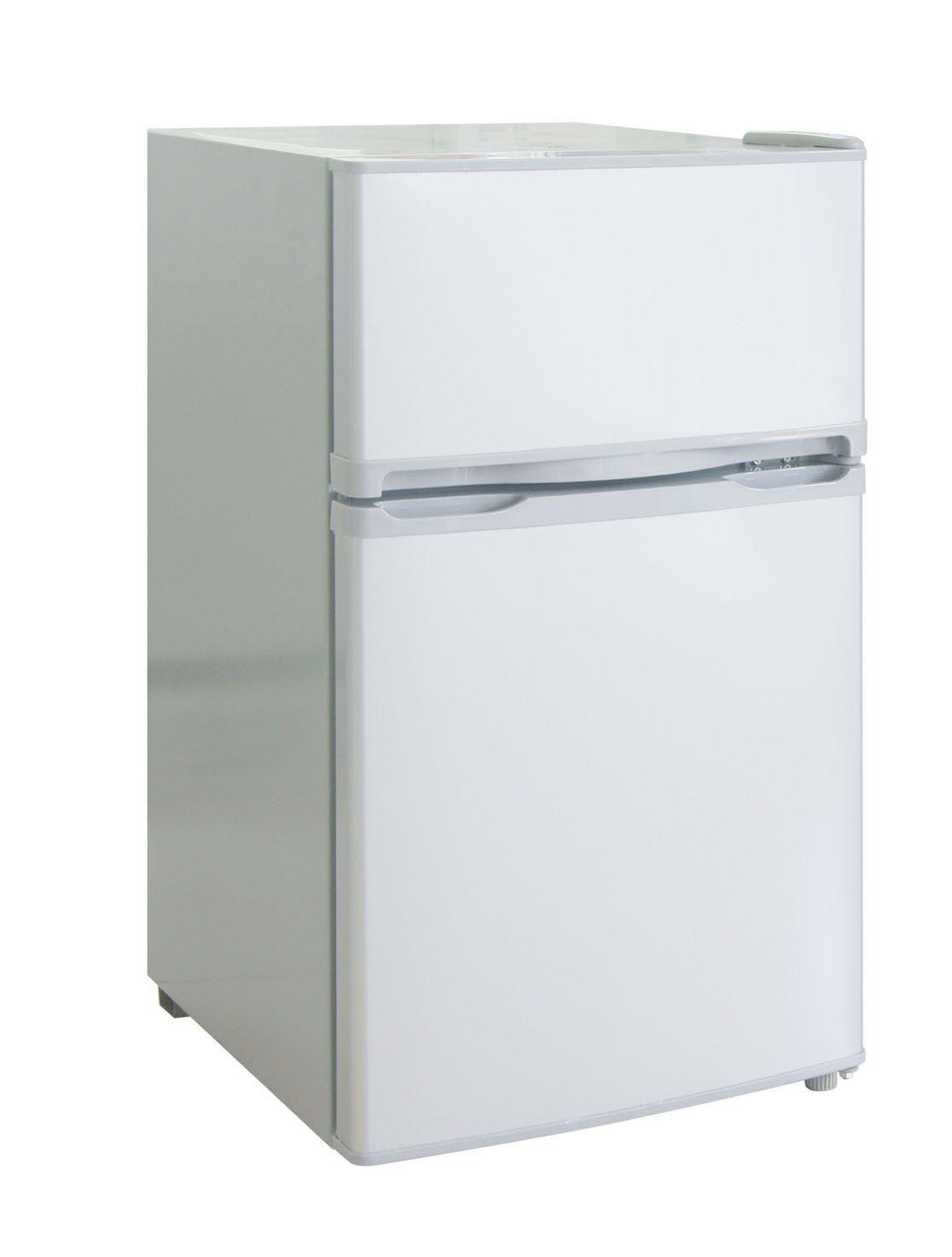 RCA-Igloo 3.2 Cubic Foot 2 Door Fridge and Freezer, White ...