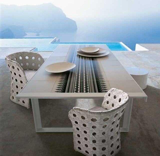 Outdoor Möbel von BB Italia u2013 zeitlose Ästhetik und Funktionalität - ideen terrasse outdoor mobeln