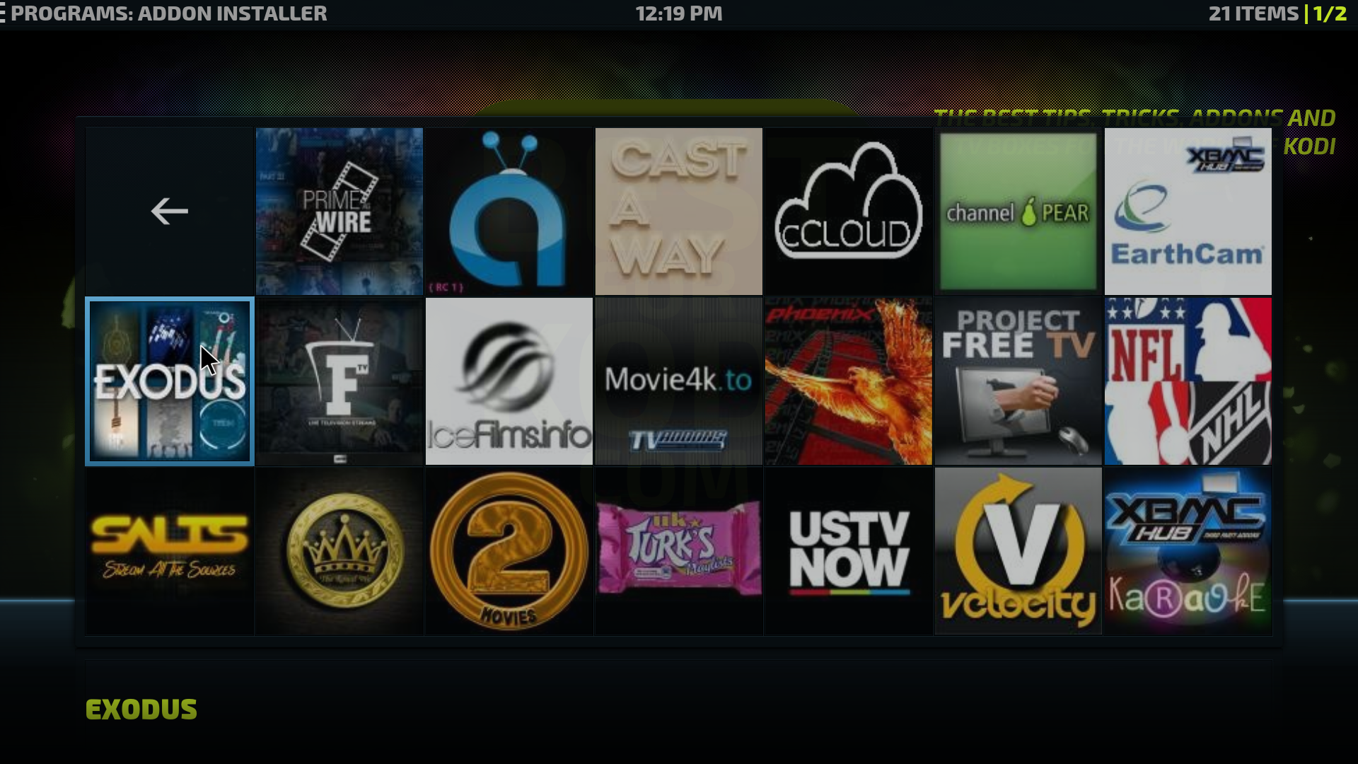 kodi alternatives on firestick