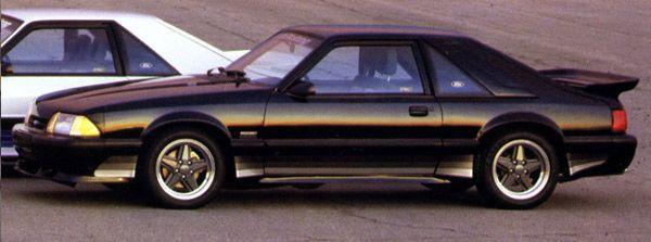 1987 1988 Saleen Mustang Fox Body Mustang Fox Mustang Saleen Mustang