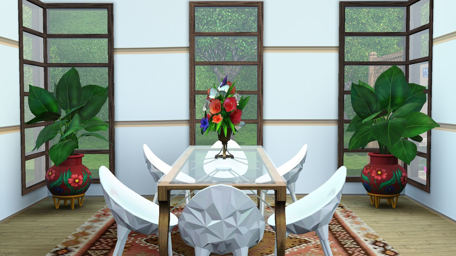 Great open dining space the sims 3 living the sims 3 for Sims 3 dining room ideas