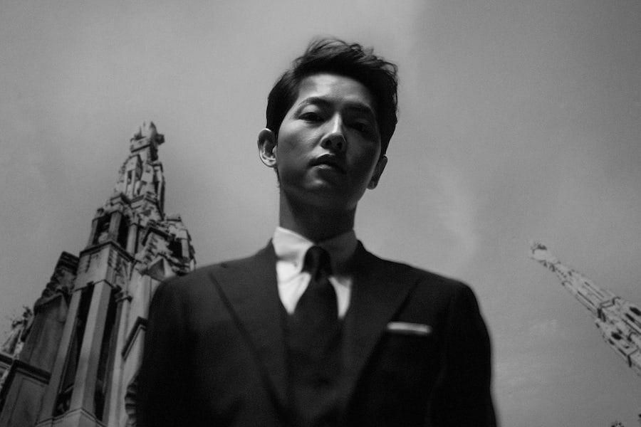Song Joong Ki Shows His Charisma In Black-And-White Poster For Upcoming tvN Drama