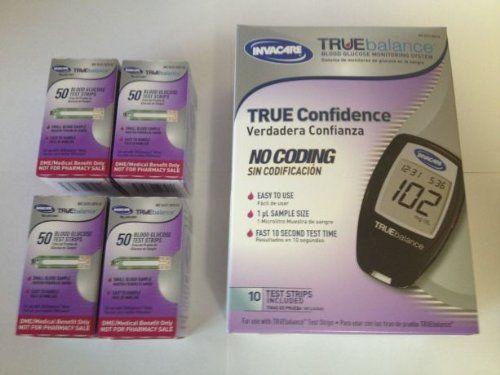 True Balance Test Strips 200 Count with Free TrueBalance