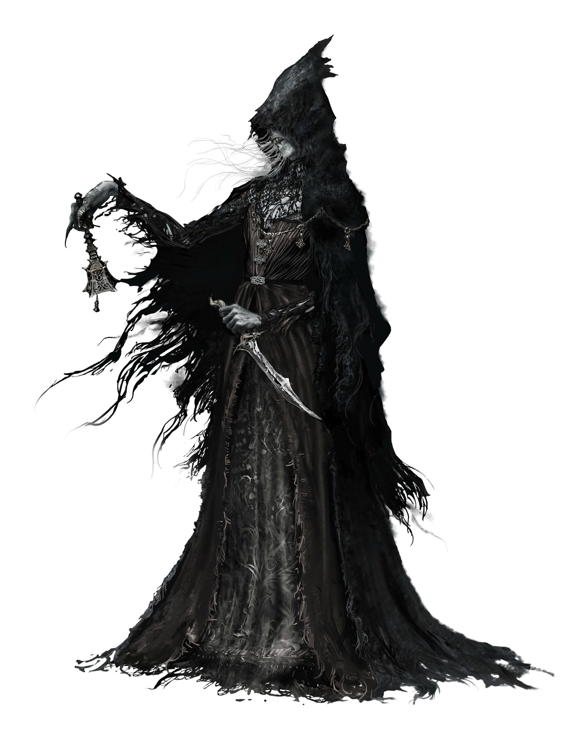 Curse breakers halloween horror mansion walkthrough solution - Bloodborne Concept Art Chime Maiden