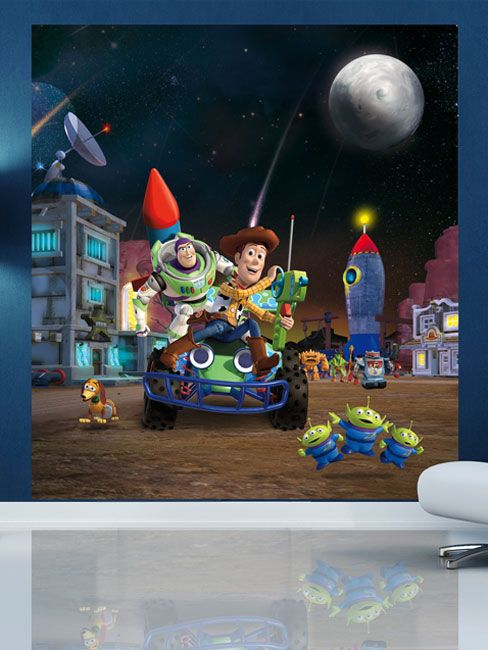 Awesome Buzz Lightyear Wall Mural Idea · Amazing Buzz Lightyear Wall Mural  Good Looking Part 17