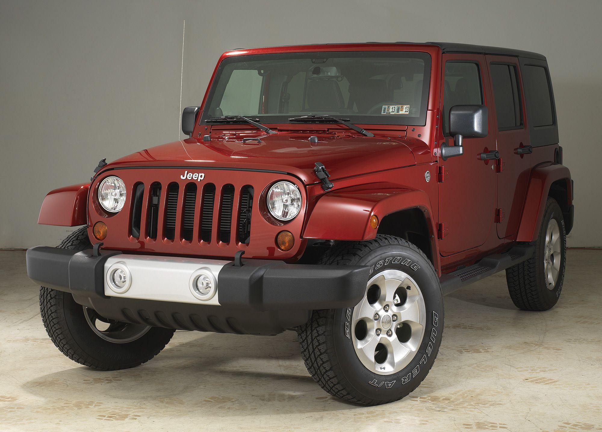 2013 Jeep Sahara 0 60