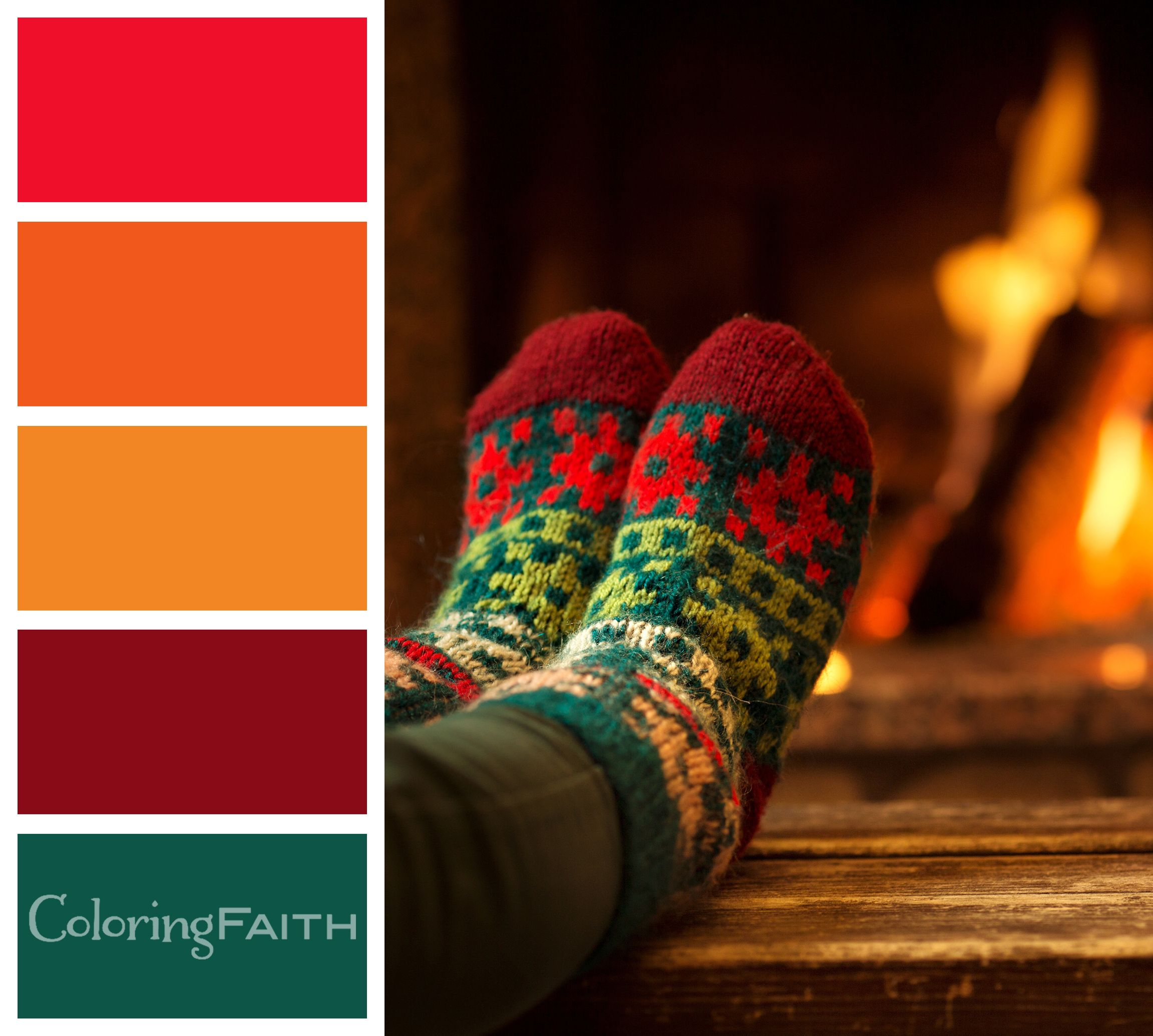comfy socks color palette 10 free adult coloring book. Black Bedroom Furniture Sets. Home Design Ideas
