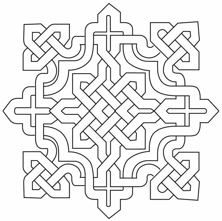 Pin von Antonio Rincon Reina auf Adornos | Pinterest | Geometrie ...