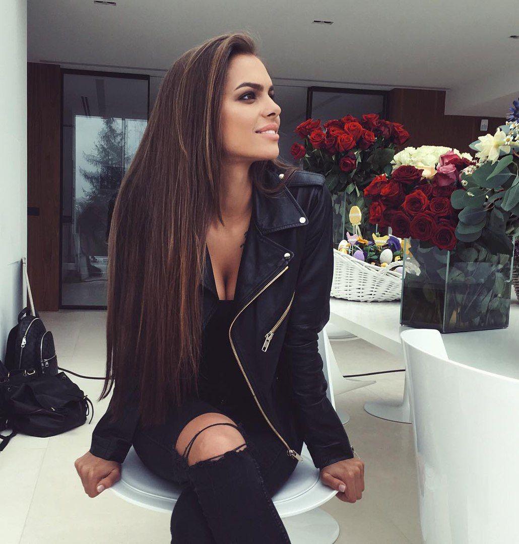 Viki Odintcova. Love the outfit | Fashion, Jacket outfits, Black ...