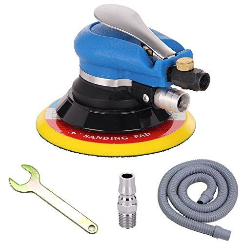 Anesty 6 Air Random Orbital Sander Dual Action Pneumatic Polisher Grinding Sanding Tools With Vacuuming Func Sanding Tools