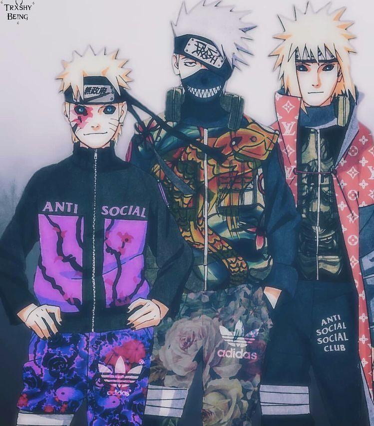 Anime Edit Aesthetic Art Anime Naruto Black Anime Characters Naruto Shippuden Anime