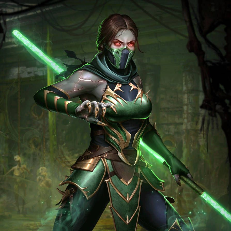 Mortal Kombat X: Mobile' Jade Mk11 XPS ONLY!!! by lezisell