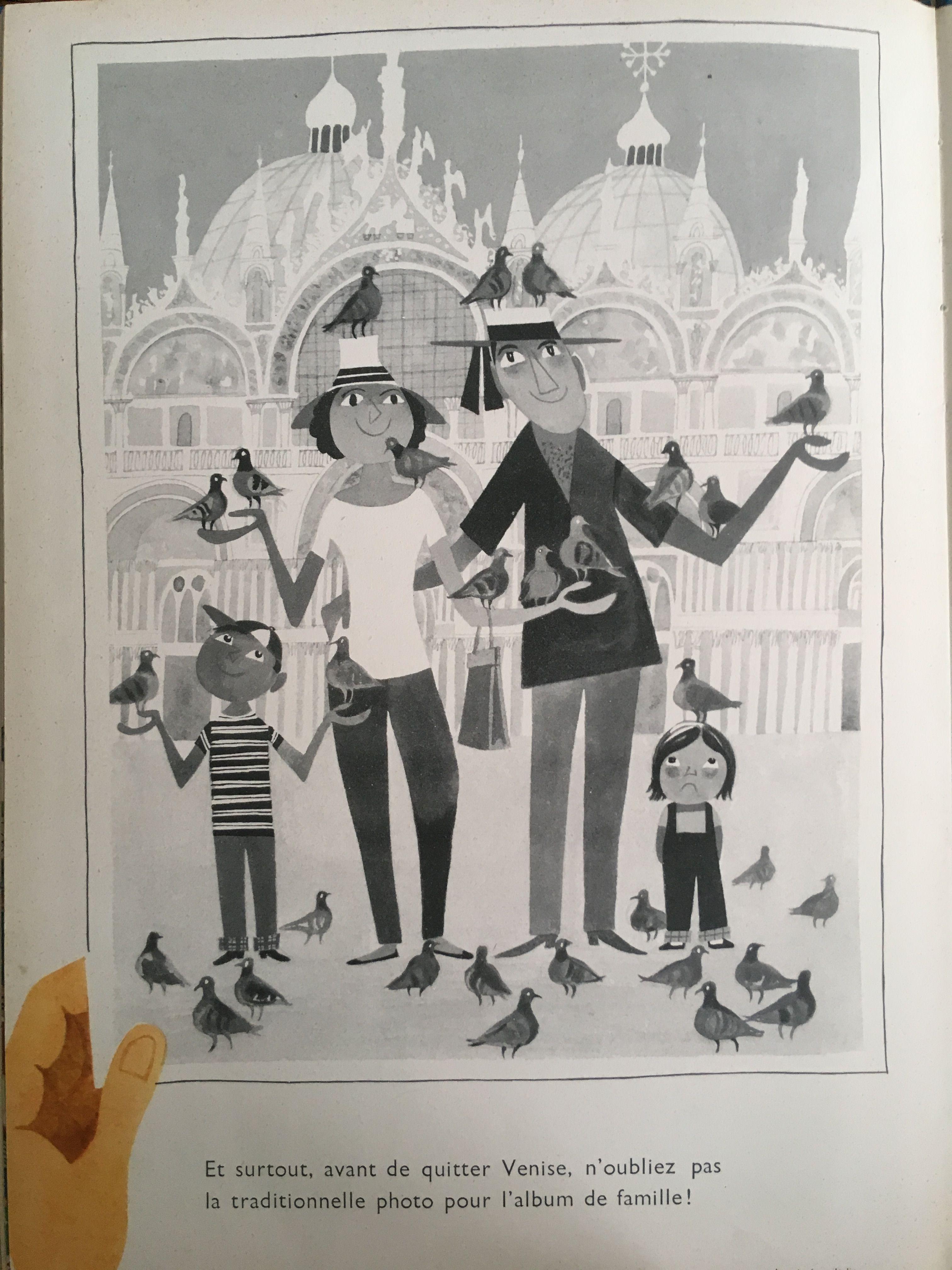 Venise By Miroslav Sasek In 1961 Illustrators Illustration Children S Books