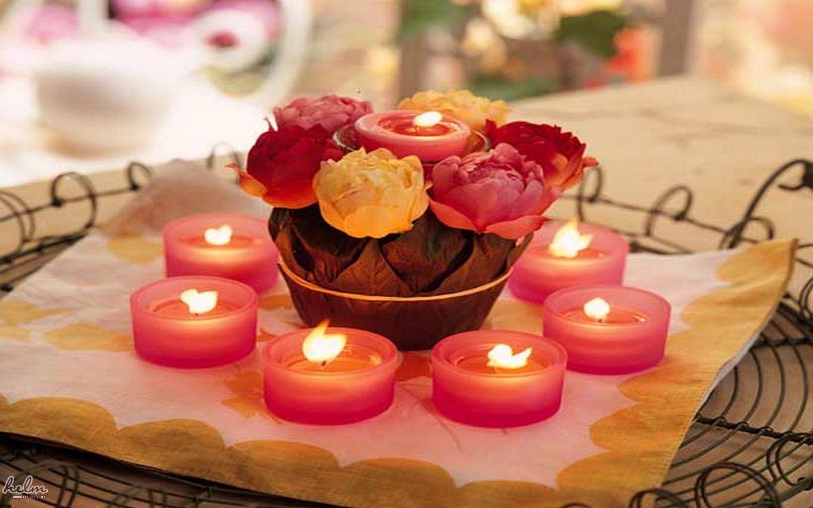اجمل خلفيات رومانسيه شموع 2016 خلفيات شموع Cheap Wedding Decorations Wedding Floral Centerpieces Inexpensive Wedding Centerpieces