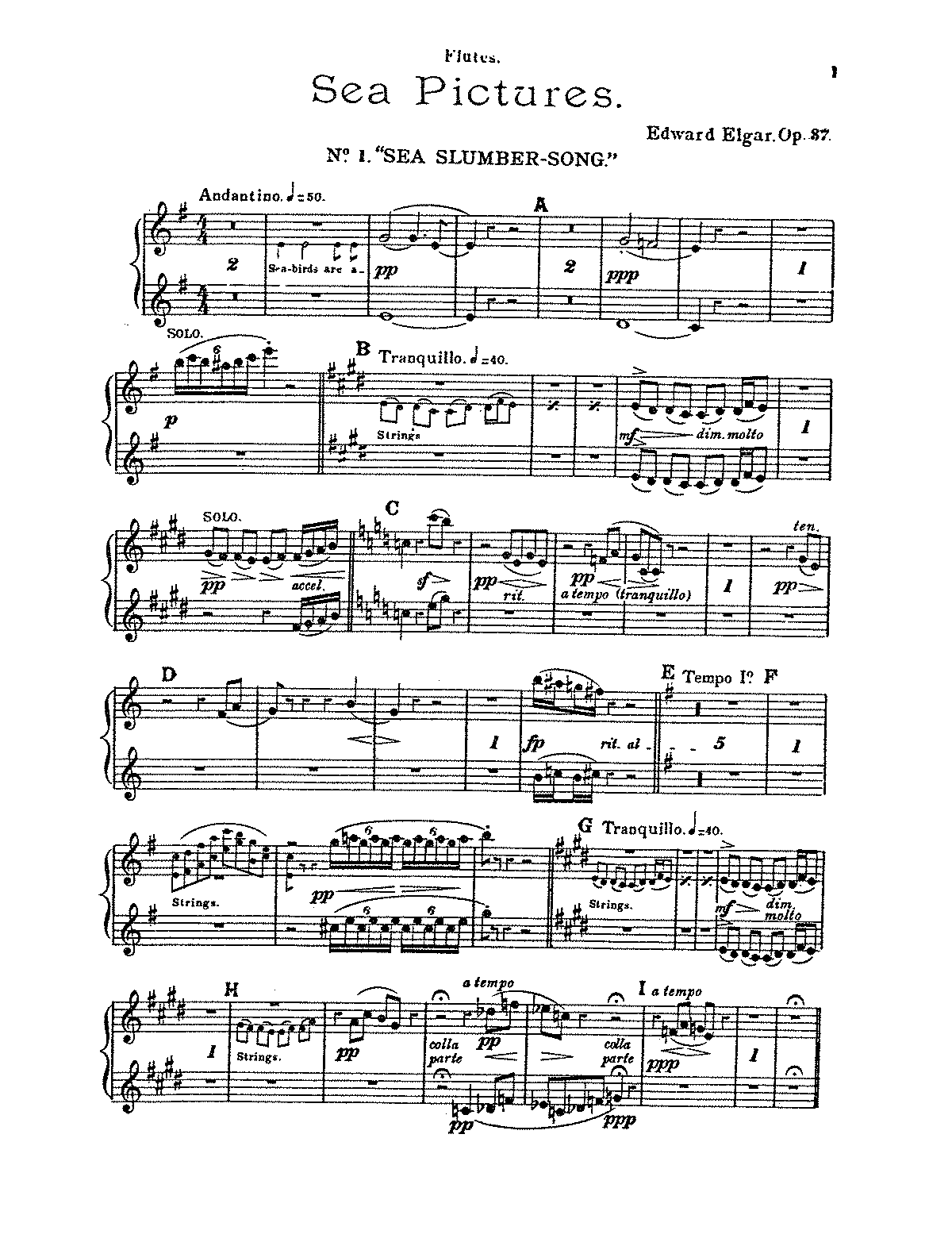 Sea Pictures, Op.37 (Elgar, Edward) - IMSLP/Petrucci Music Library: Free  Public Domain Sheet Music