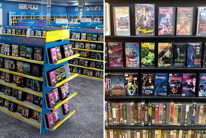 Video Rental Stores Of The 80's and 90's