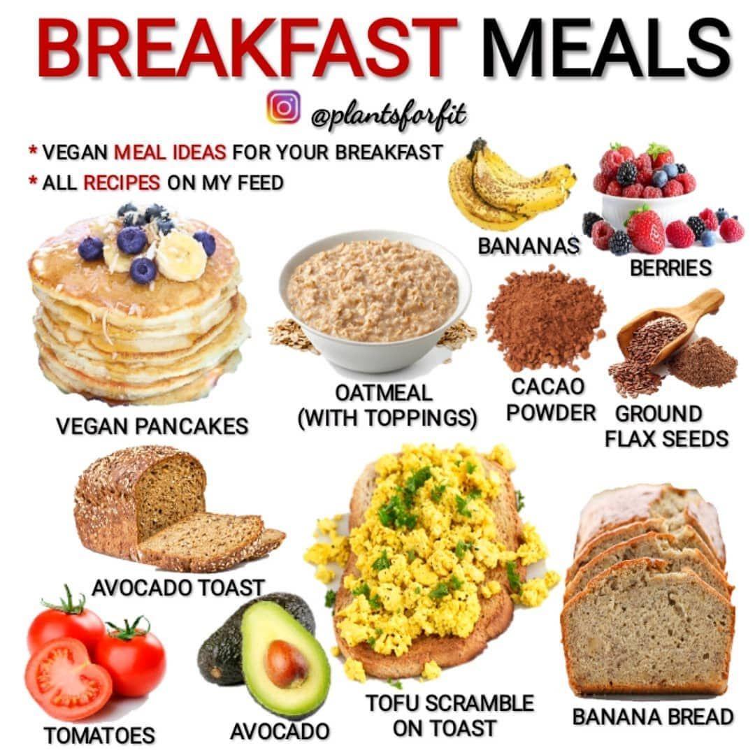 Vegan Tipster Nutrition On Instagram Breakfast Meals Follow Share Vegantipster For More Da In 2020 Vegan Recipes Plant Based Best Vegan Breakfast Vegan Eating