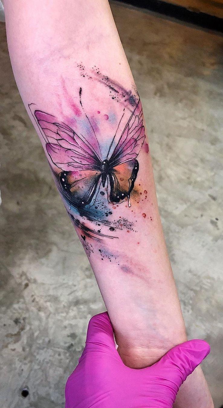 Photo of Aquarell-Tattoos verwandeln Ihren Körper in eine lebendige Leinwand