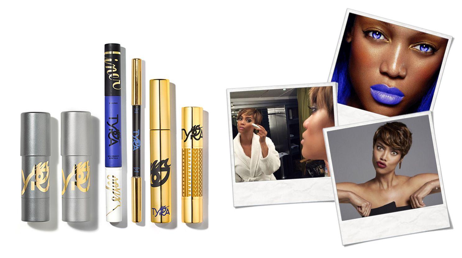 Tyra Banks new cosmetics line. TYRA BEAUTY! Check out my