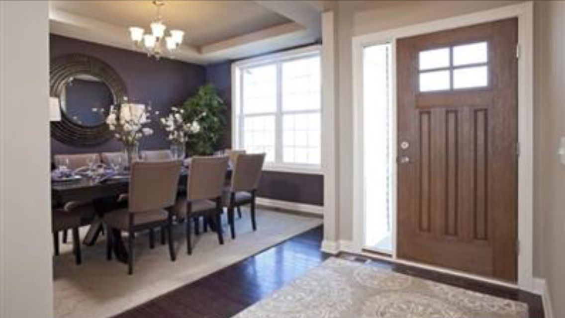 Dining Room And Front Entrance In 2019 Home New