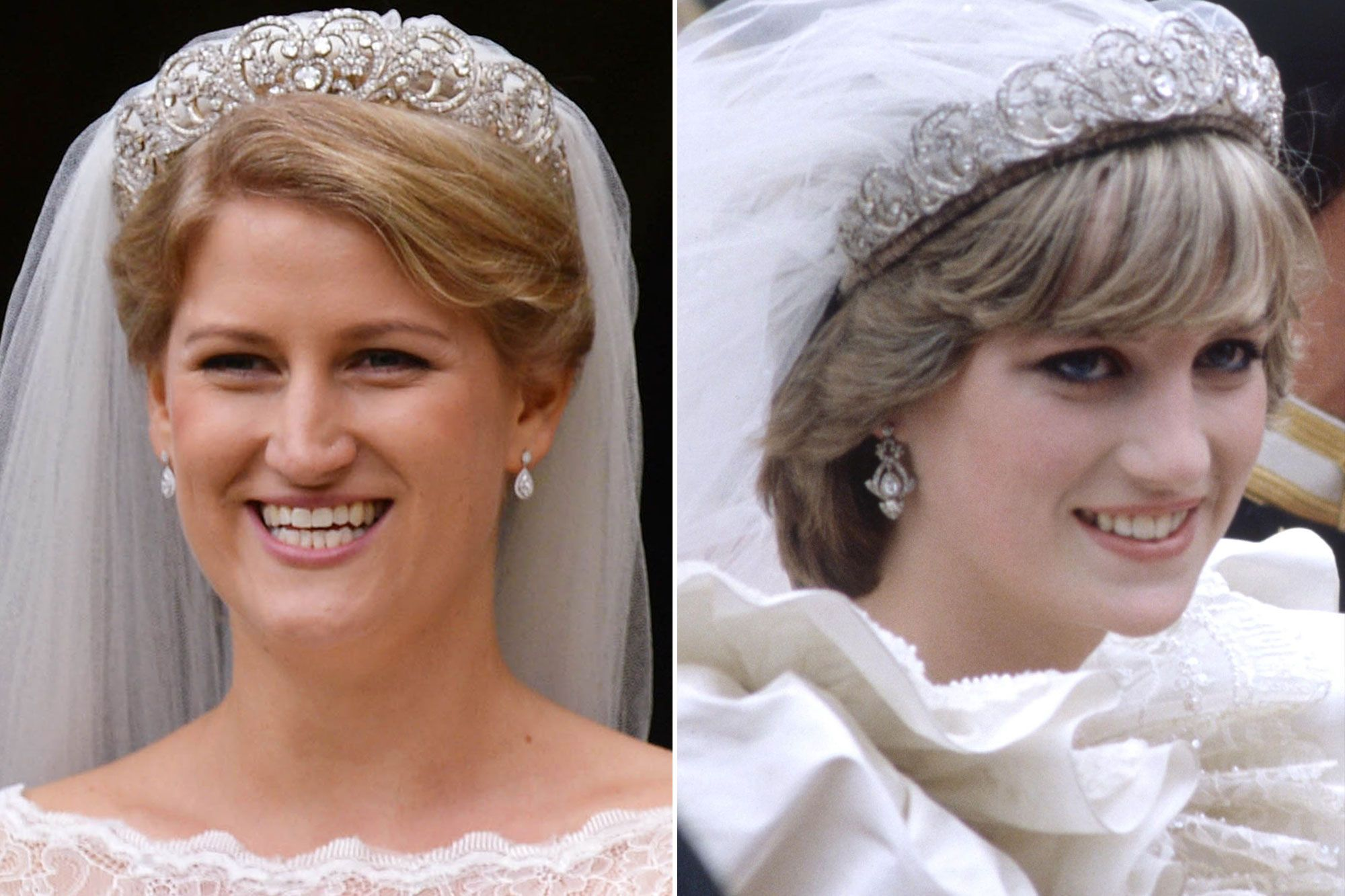 Royal Rewear! Princess Diana's Wedding Tiara Worn by Niece