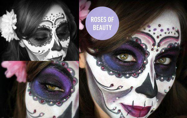 schaurig schönes Halloween Make-up