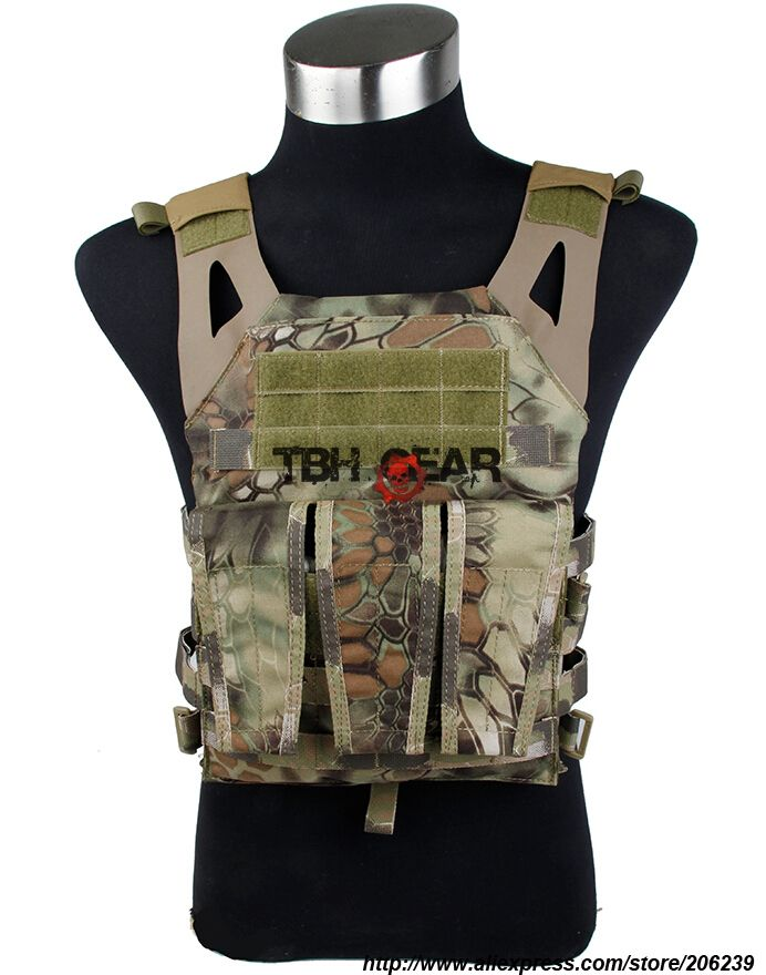 TMC Jump Plate Carrier JPC Vest Military/Airsoft Tactical Vest In ...