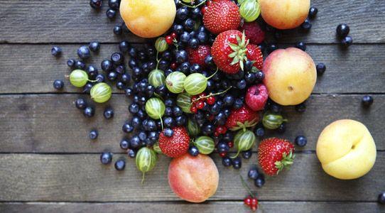Fruits rouges et noirs au jus de vin des Coteaux d'Aix