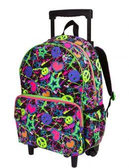 Glitter Graffiti Roller Backpack  4149de99d33dd