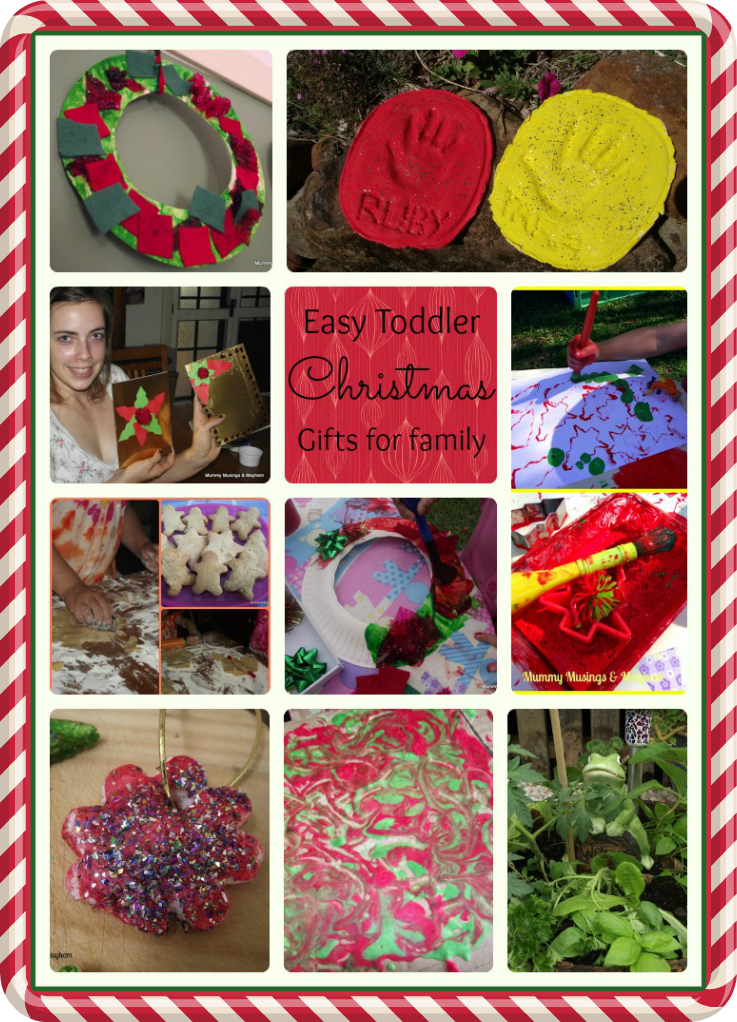 Superb Craft Christmas Present Ideas Part - 11: Easy Toddler Christmas Gifts For Family