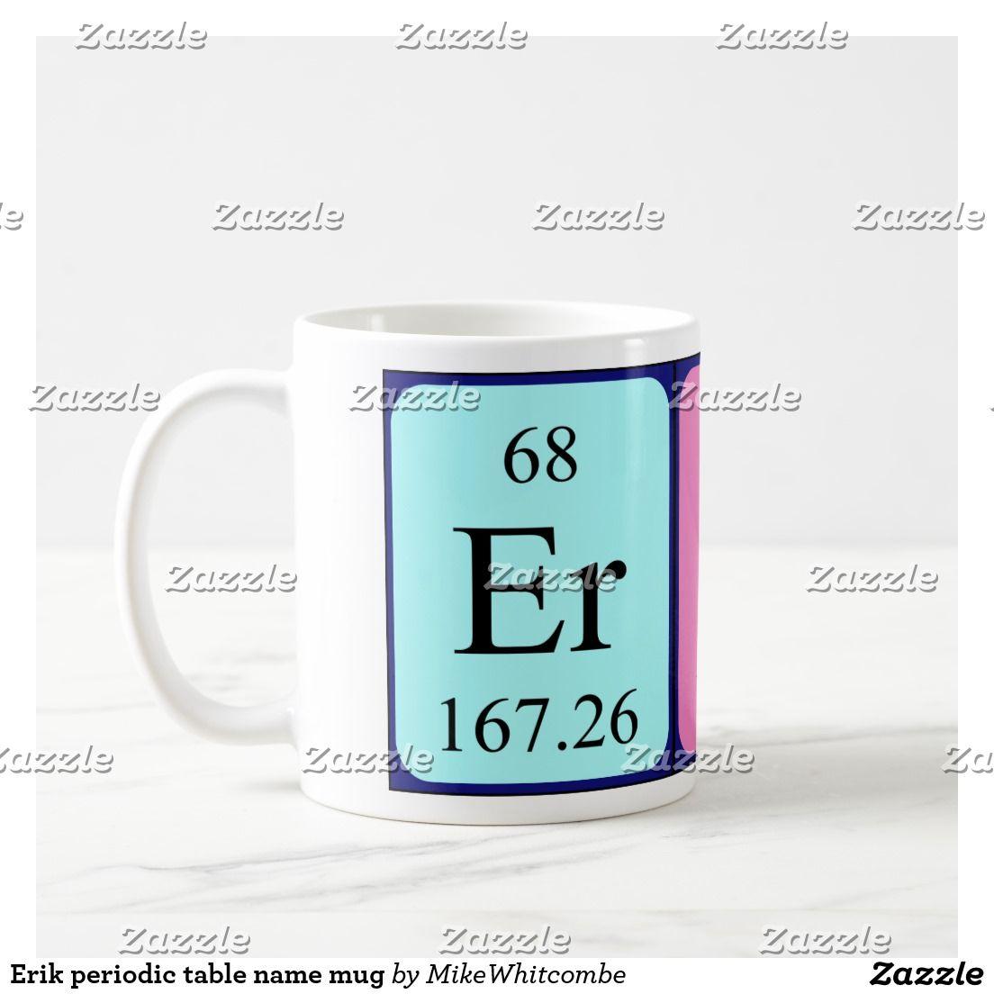 Erik periodic table name mug periodic table erik periodic table name mug urtaz Choice Image