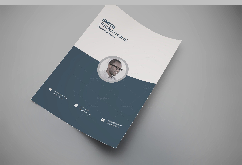 Houston Professional Resume Design Template 5.99