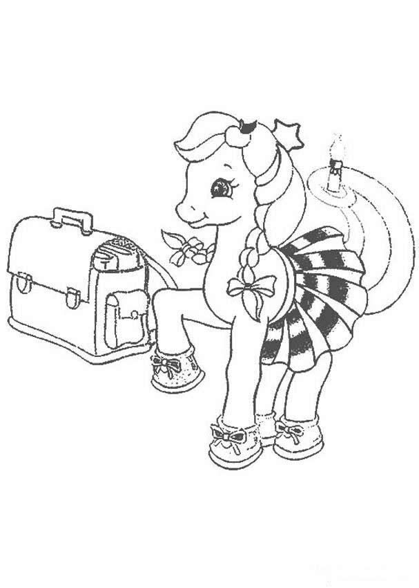 My Little Pony girl coloring page   MLP Coloring Pages   Pinterest